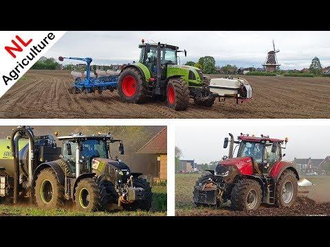 Maize Seeding 2019 - Claas Arion 640 + Monosem - Mais Zaaien - Pleizier U0026 Timmer - Kootwijkerbroek.