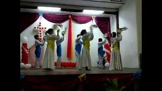 Tarian Rebana St.Catherine inanam -One Way Jesus-