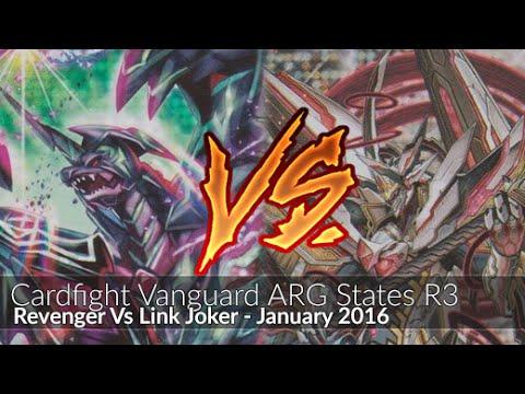 Revengers Vs Link Joker Glendios - Cardfight!! Vanguard ARG States February 2016 R3