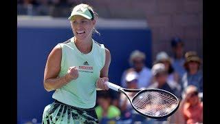 Angelique Kerber vs. Kristina Mladenovic | US Open 2019 R1 Highlights