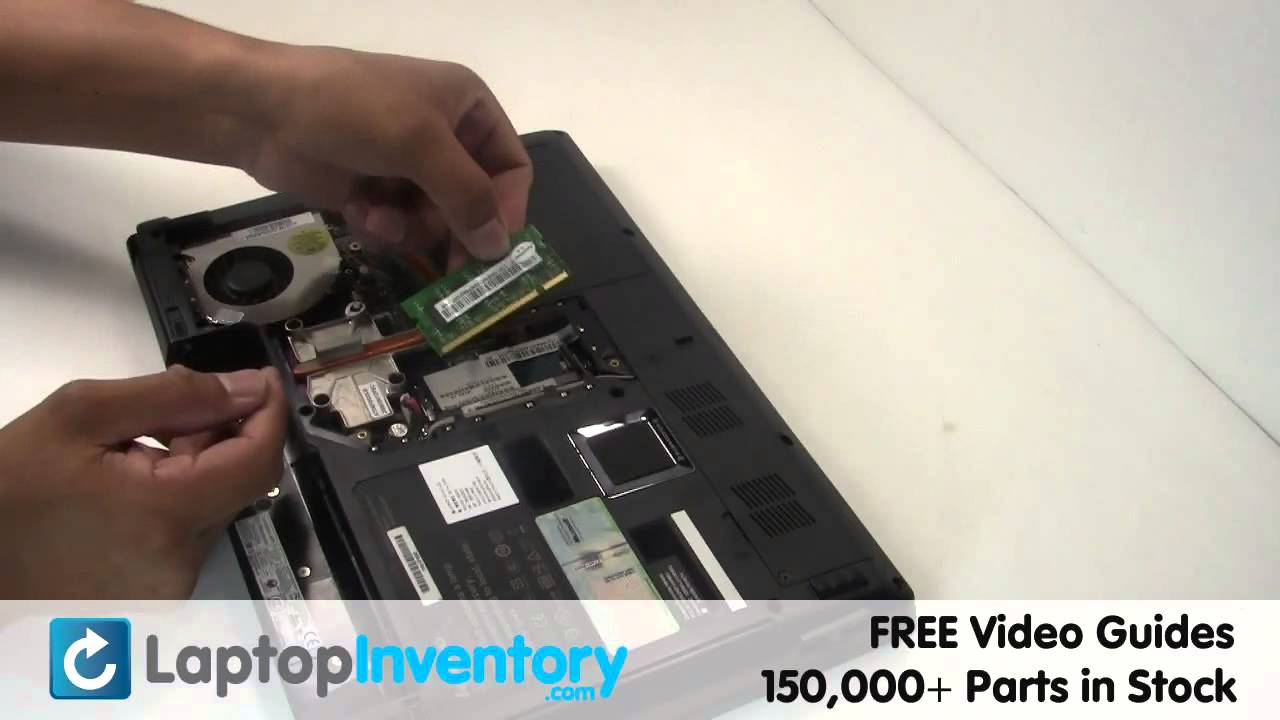 How To Install A Battery >> Lenovo 3000 Y430 RAM Memory Replacement | Laptop Notebook Install Guide, Replace - YouTube