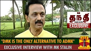 DMK is the only Alternative for ADMK - Exclusive Interview with MK Stalin Spl tamil hot video news 06-11-2015