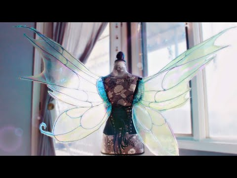 Cellophane Fairy Wing Tutorial