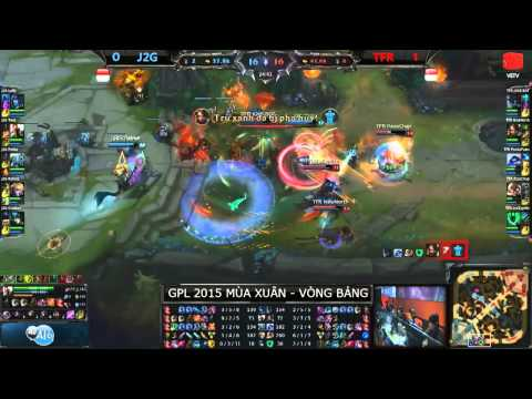 Highlight TFR vs J2G GPL Xuân 2015