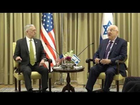 Defense Secretary Jim Mattis Meets Israel President Reuven Rivlin | SHOCKING !