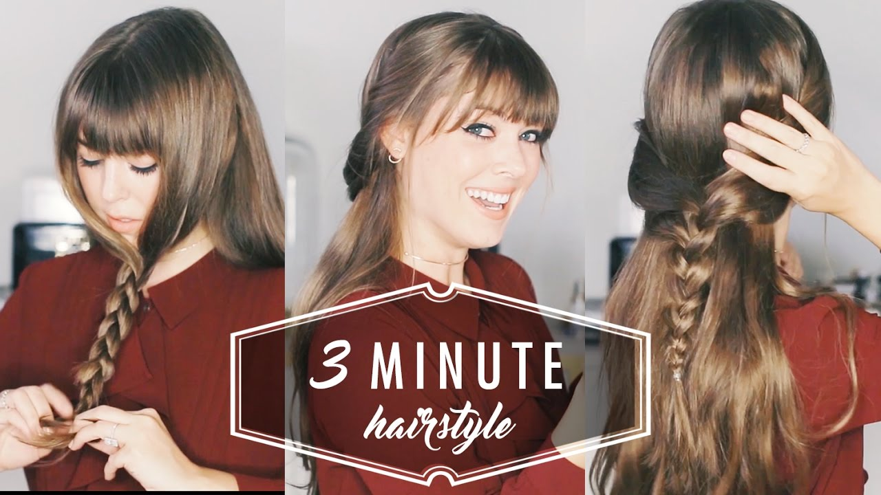 5 Easy Pretty Hairstyles For Beginners Stylecaster
