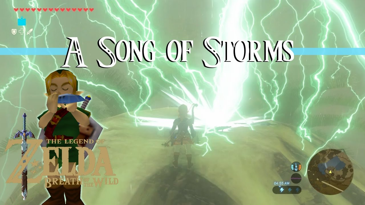 Breath Of The Wild A Song Of Storms Shrine Quest Walkthrough Youtube