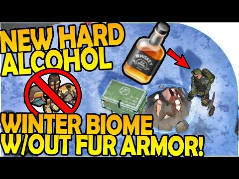 NEW HARD ALCOHOL + SURVIVING WINTER BIOME W/ NO FUR ARMOR - Last Day On Earth Survival 1.6.0 Update