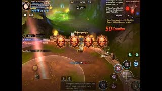 ザPrime Guild: Territory War (TW) - Raven Lvl 120 Highlights Gameplay (ZhangTsun) - Dragon Nest M