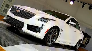 2016 Cadillac CTS-V PREVIEW & Cadillac Chief Engineer Dave Leone answers YOUR questions