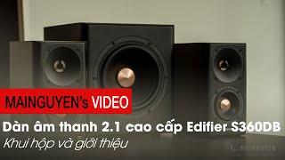[Khui thùng] S360DB - Dàn âm thanh 2.1 giá gần 10 triệu cực đẹp của Edifier