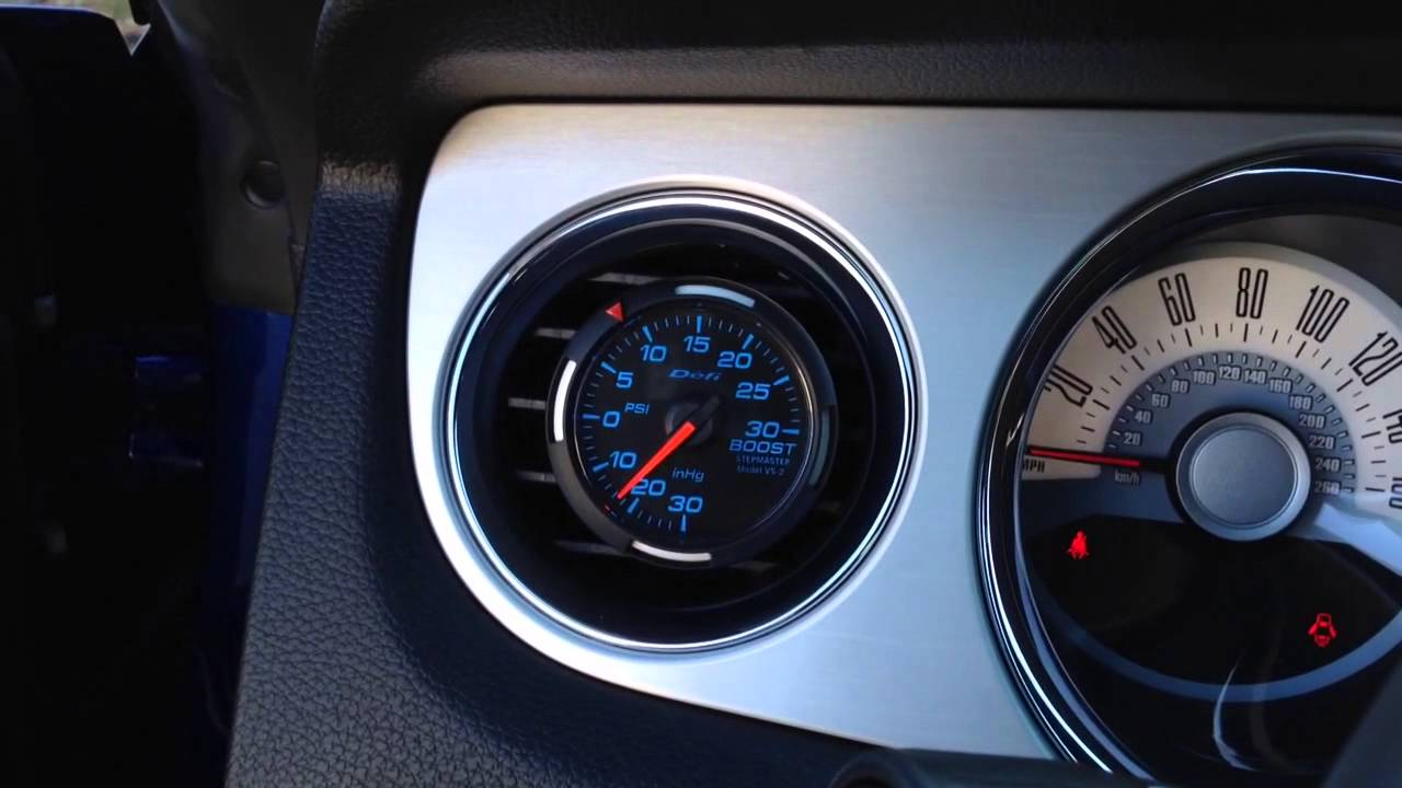 Defi Boost Gauge First Start Up On 2012 Magnuson Supercharged 5oh Wiring Wrx