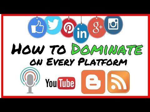Dominate the conversation on EVERY. SOCIAL. PLATFORM.