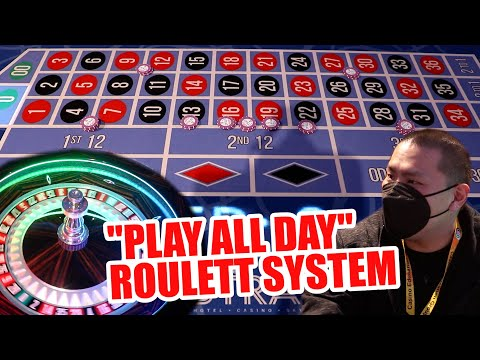"""$100 BUY IN """"EASY"""" SYSTEM - Live Roulette Strat Hotel & Casino"""