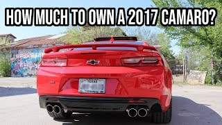 how much do i pay for my 2017 camaro ss?