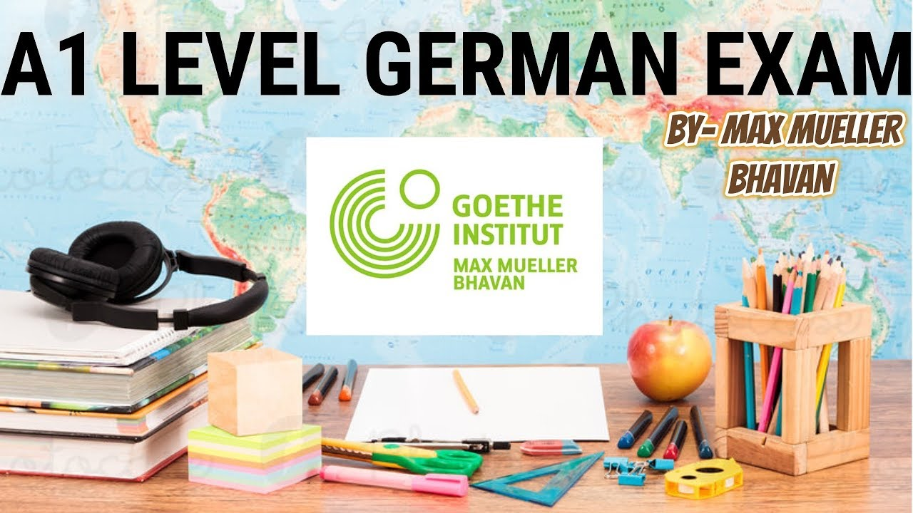 A1 Level German Exam by Goethe Institut | Max Mueller Bhavan | Part 2 |  GERMAN GYAN