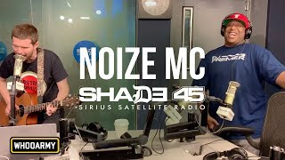 Download NOIZE MC invades EMINEM's SHADE 45 with WHOO KID and DJ PREMIER Mp3 and Videos