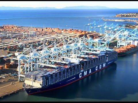 Largest Cargo Ship To Ever Call In United States