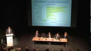 Shropshire County Annual Pensions Meeting - November 2013