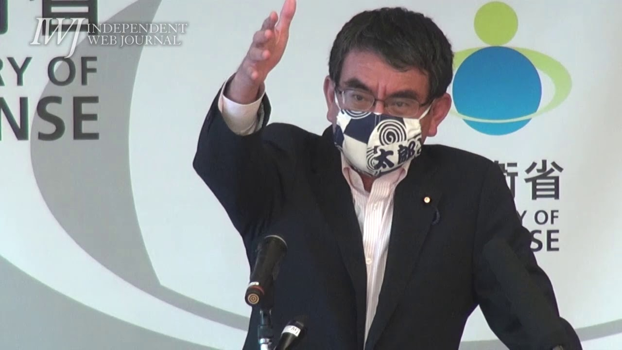 会見 防衛 大臣