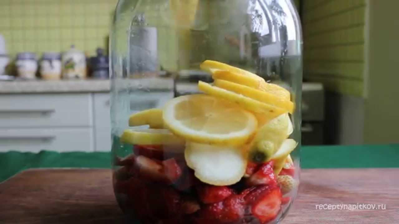 как приготовить клубничный лимонад с мятой