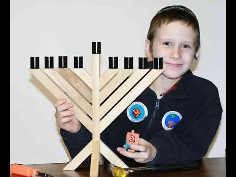 How to build your own with the DIY Menorah