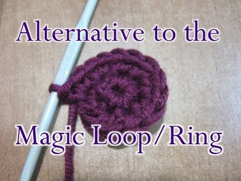 f5dc960be7a Chain Two 2 Method - Crochet Stitch - Alternative to the Magic Loop   Ring