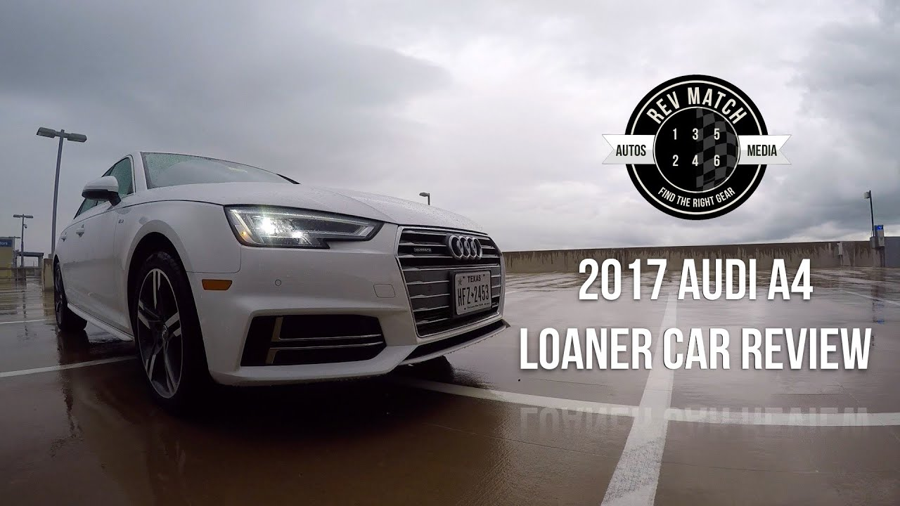 Audi A Loaner Car Review YouTube - Audi loaner car