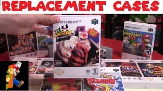 Nintendo 64 Replacement Game Cases | Nintendo Collecting
