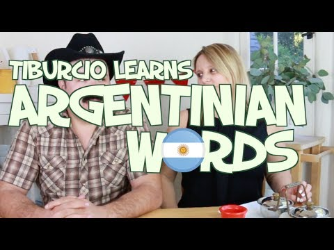 Mexican Learns Argentinian Spanish Words ft. VeroSweetHobby