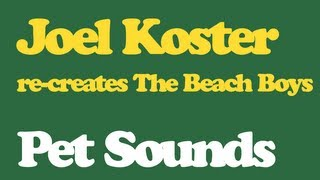 Joel Koster || Pet Sounds || Full album Re-creation