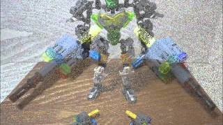 Bionicle MOC 2015 : Gundam 00 - Gundam Dynames GN-002