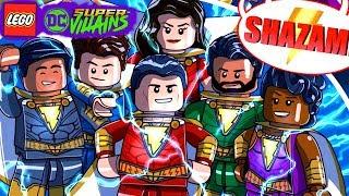 SHAZAM O FILME DLC PARTE 2 no LEGO DC Super villains #150 CONFRONTO DE SIVANA Dublado Português
