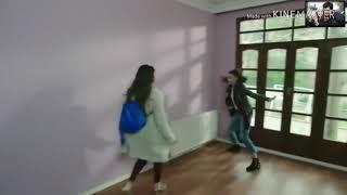 مشهد رائع مدبلج بين نازلي و سيرين و علي و صلاح ، شجار على الغرفة