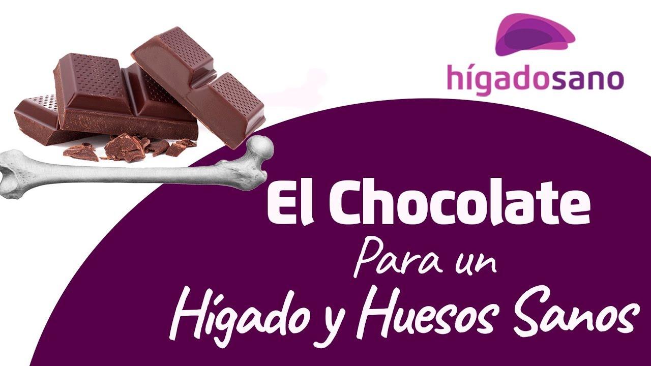 chocolate afecta el higado