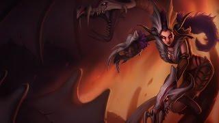 Shyvana Garras de Crânio - Completo - League of Legends