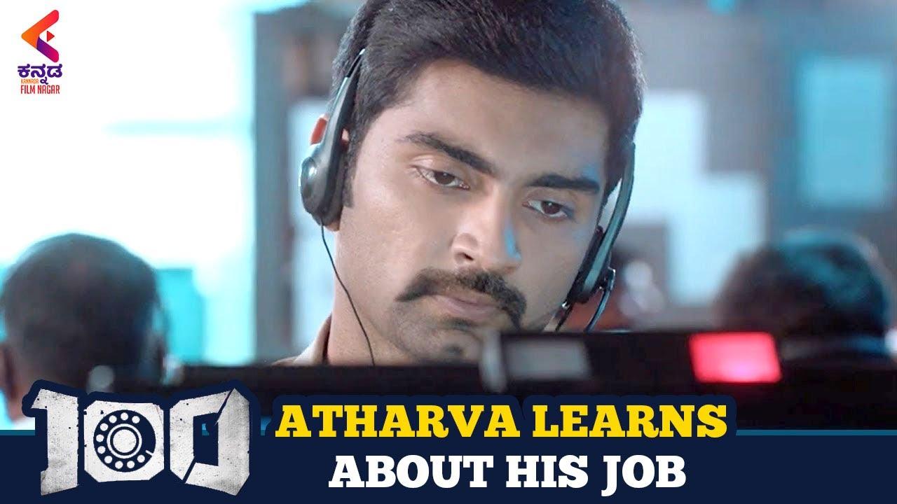 100 Kannada Dubbed Movie   Emotional Scene   Atharvaa   Hansika Motwani   Kannada Filmnagar