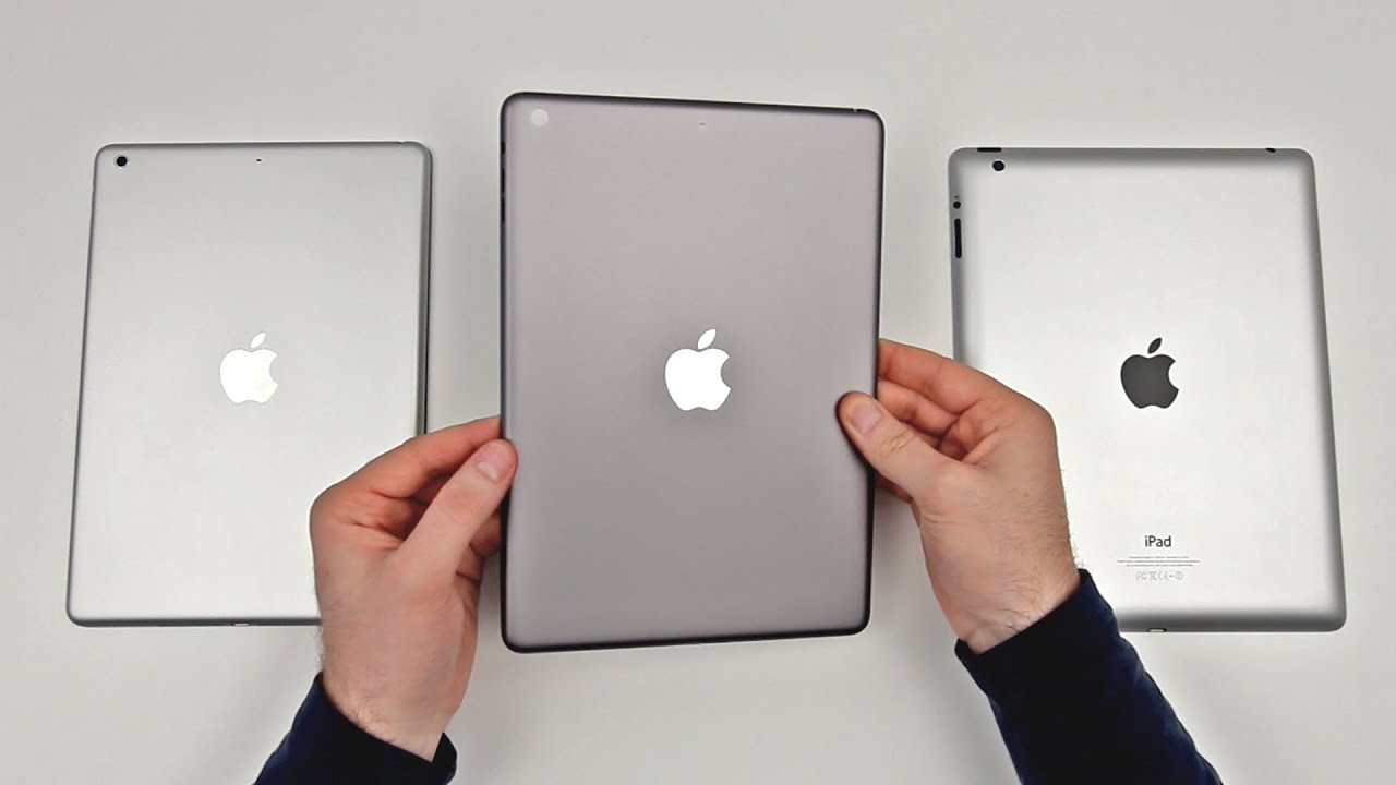 iPad 5 Space Gray Leaked? (First Look + Comparison) - YouTube