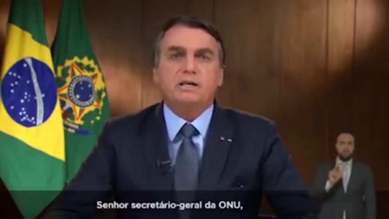 Presidente Jair Bolsonaro: Discurso de abertura da 75⁰ Assembléia Geral da ONU.