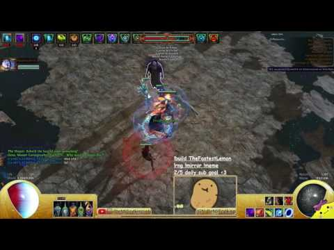 2.6 - Shaper With a Necromancer Aura Bot - TheFastestLemon, Chaos Wanderfinder - Demi (ft. H3lte)
