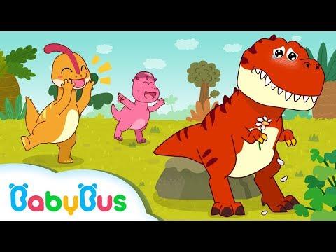 Dinosaur Has no Friends   Dinosaur Song   Baby Shark   Animal Song for Kids   BabyBus