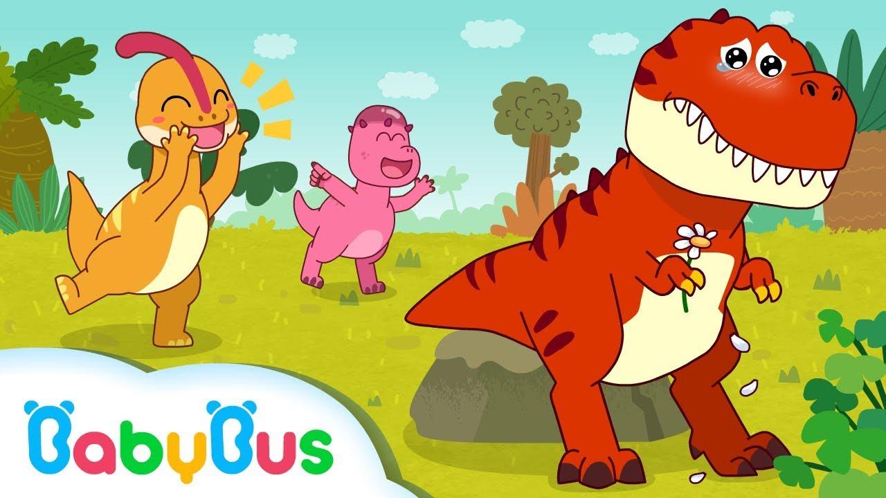 Download Dinosaur Has no Friends   Dinosaur Song   Baby Shark   Animal Song for Kids   BabyBus