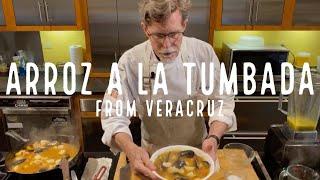 Arroz a la Tumbada: Seafood Rice Cazuela from Veracruz