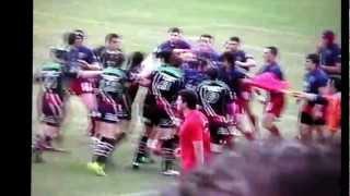 bagarre rugby gruissan & rives-d'orb demi finale languedoc honneur 2011