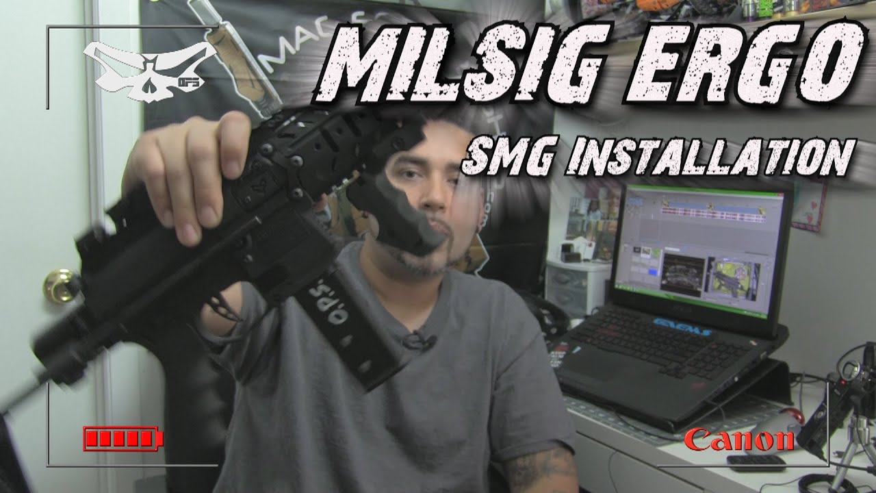 MILSIG ERGO RIS Handle vs SMG