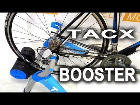Велотренажер Tacx Booster. Комплектация и сборка с VELOMODA.