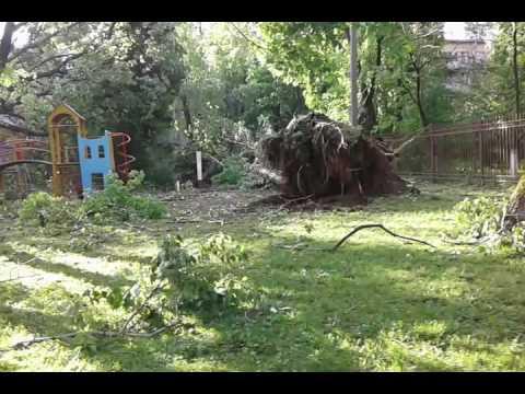 Ураган в Москве Рязанский проспект 29мая 2017