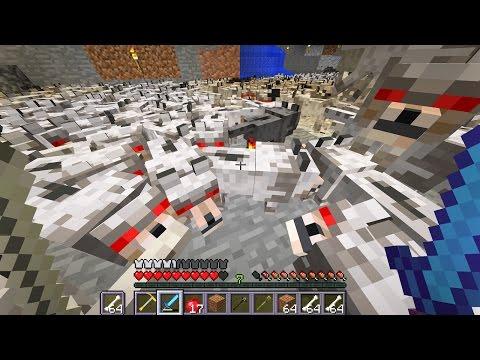 Minecraft wolf EXPERIMENT