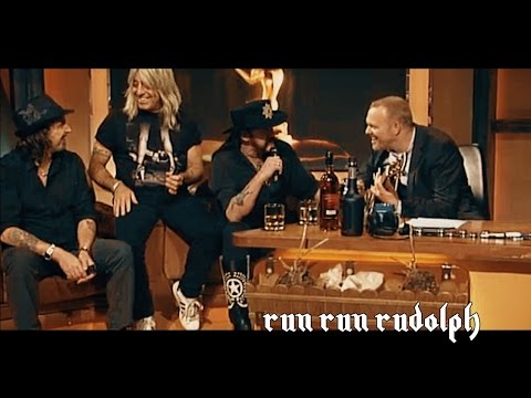 Lemmy Motörhead - Run Run Rudolph ♠ Acoustic Jam Session Christmas Song