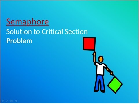 What is Semaphore : Solution to critical section problem